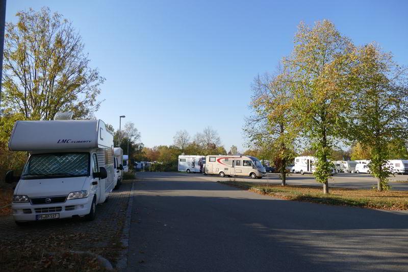 Wohnmobilstellplatz P2 Rothenburg ob der Tauber